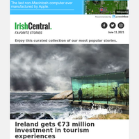 Ireland gets €73 million investment in tourism experiences