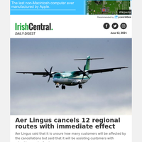 Aer Lingus cancels 12 regional routes with immediate effect