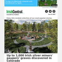 Up to 1,000 Irish silver miners' paupers' graves discovered in Colorado