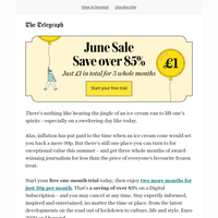 The June Sale: Save over 85% now.