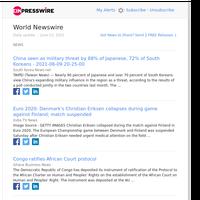 World News (Sun 13 Jun 2021)