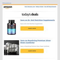 Save on Dr. Emil Nutrition Supplements