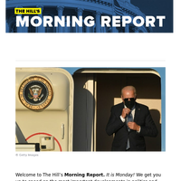 The Hill's Morning Report - 1/ Biden meets today with NATO, Turkey's Erdoğan ahead of Putin summit. 2/ Trump DOJ's secret hunt for email, phone records included West Wing, lawmakers, journalists; former AGs, Apple face scrutiny. 3/ Israel's
