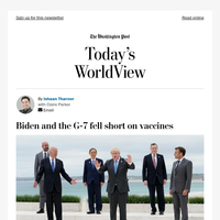 Today's WorldView: The G-7's 'unforgivable moral lapse'