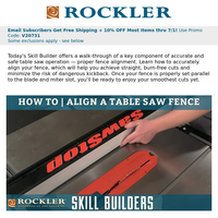 Video: Fine-Tune Your Table Saw Fence