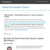 "Wall Street's ""Dirty little secret for a shot at massive profits"