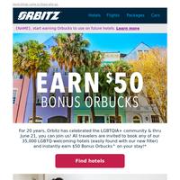 Celebrate Pride with $50 Bonus Orbucks! 🎇