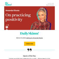 Daily Skimm: I know now you're my only hope