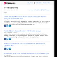 World News (Wed 16 Jun 2021)