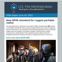 USFA Digest: June 16