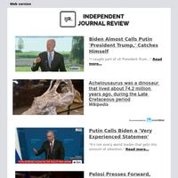 Biden Almost Calls Putin 'President Trump,' Catches Himself