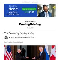 Evening Briefing: A chilly Biden-Putin summit
