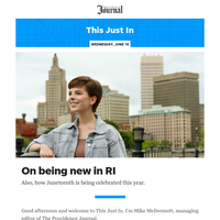 This Just In: On being new in RI