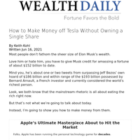 How to Make Money off Tesla Without Owning a Single Share