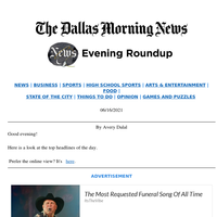 Collin County NAACP President's thoughts before Juneteenth, Donnie Nelson leaves Mavs: Your Wednesday evening roundup
