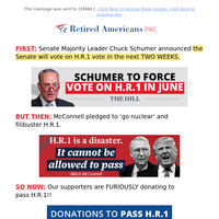 Chuck Schumer STARES DOWN McConnell