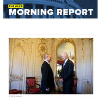 The Hill's Morning Report - 1/ US, Russia to return ambassadors, launch new talks on arms control. 2/ Bipartisan Senate negotiators grow to 20 in search of a viable infrastructure accord. 3/ Democrat Manchin opens door he initially shut on major vot