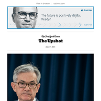 Upshot: Fed Chief's Long-Term Optimism