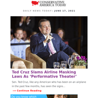 Ted Cruz Slams Airline Masking Laws As 'Performative Theater'