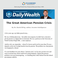 The Great American Pension Crisis
