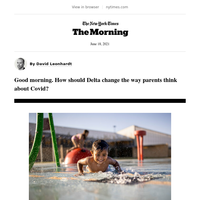 The Morning: Kids, Covid and Delta