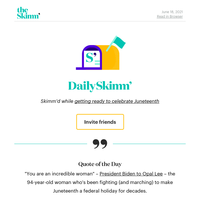 Daily Skimm: Maybe I'm just like my father