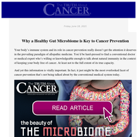 The Beauty of the Microbiome ➕ Dangers of High Fructose Corn Syrup ➕ Anti-Cancer Properties of Pomegranates 🍅