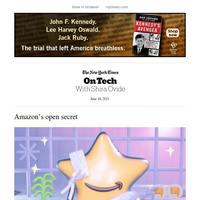 On Tech: Amazon's open secret