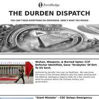 Zerohedge: The Durden Dispatch