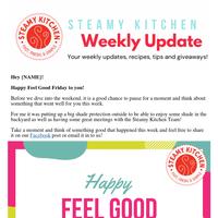Steamy Kitchen Friday Update - Feel Good Friday!