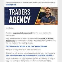 A huge market movement I've been tracking for months...