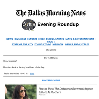 Southwest turns 50, Nowitzki added for Mavs' next chapter, Dallas sprinter chases dream: Your Friday evening roundup