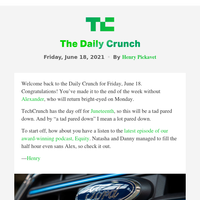Daily Crunch - Spotify and Ford make acquisitions
