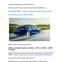 Could These Trades BUY You a Tesla?