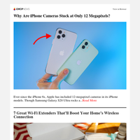 Why Are iPhone Cameras Stuck at Only 12 Megapixels?   How to Leave All of Your Keys (and Even Your Driver's License) Behind with iOS 15