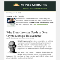 Own crypto startups before the next $1.3 billion hits