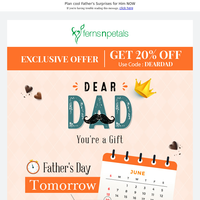 It's Almost Father's Day! Want to See Dad Smiling? 👨