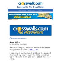 Good Gifts - Crosswalk the Devotional - June 19