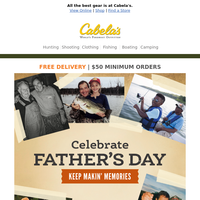 Still on the hunt for the perfect Father's Day gift?