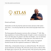 Celebrate Juneteenth, Press on for Freedom