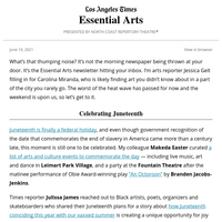 Essential Arts: A composer reflects on Juneteenth