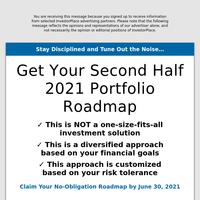 Get Your Second Half 2021 Portfolio Roadmap
