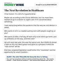 The Next Revolution in Healthcare