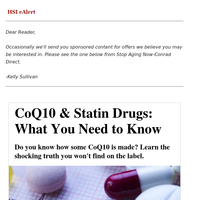 CoQ10 & Statin Drugs: What You Need to Know