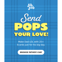 Say Happy Father's Day!