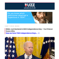 Biden Declares NEW Independence Day – And It's Confusing As Hell