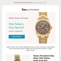 Federal Assets Auctioneers | Father's Day Special