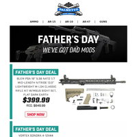 Father's Day Deals Are Ending Soon!