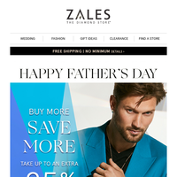 Happy Father's Day | Enjoy These Savings