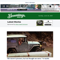 Hemmings Daily: To tackle Australia's Cape York, take the Land Rover or the Land Cruiser?